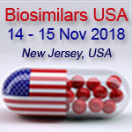 SMi's 5th Annual Biosimilars USA, Developments in Biosimilar Drug Development  Conference:  Wednesday, November 14 & 15, 2018 Location: RENAISSANCE WOODBRIDGE HOTEL, NEW JERSEY, USA